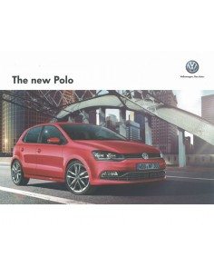 2014 VOLKSWAGEN POLO BROCHURE CHINEES