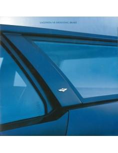 1987 ASTON MARTIN LAGONDA V8 SHOOTING BRAKE BROCHURE ENGELS