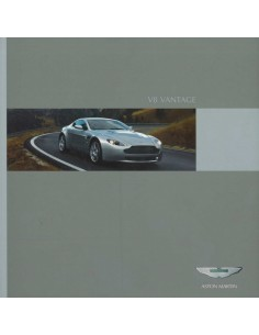 2008 ASTON MARTIN V8 VANTAGE BROCHURE DUITS