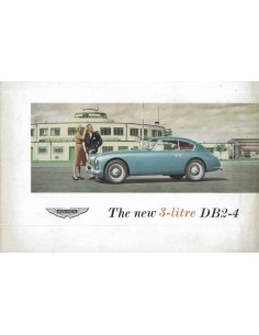 1955 ASTON MARTIN DB2-4 BROCHURE ENGLISH