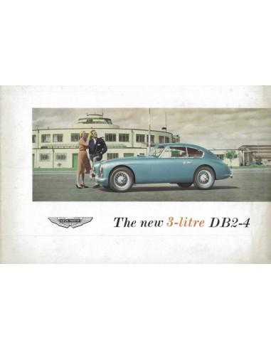 1955 ASTON MARTIN DB2-4 BROCHURE ENGLISH