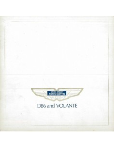 1969 ASTON MARTIN DB6 & VOLANTE BROCHURE ENGLISH