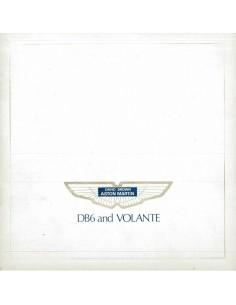 1969 ASTON MARTIN DB6 & VOLANTE BROCHURE ENGLISH