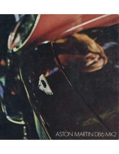 1969 ASTON MARTIN DB6 MK2 BROCHURE ENGLISH