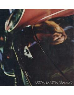 1969 ASTON MARTIN DB6 MK2 BROCHURE ENGLISH