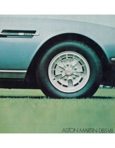 1970 ASTON MARTIN DBS V8 BROCHURE ENGLISH