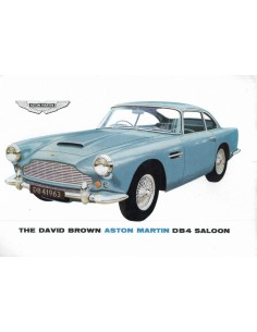 1963 ASTON MARTIN DB4 SALOON BROCHURE