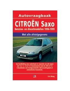 1996 - 1999 CITROËN SAXO BENZINE / DIESEL VRAAGBAAK NEDERLANDS