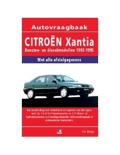 1993 - 1995 CITROËN XANTIA BENZINE / DIESEL VRAAGBAAK NEDERLANDS
