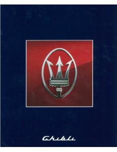 1997 MASERATI GHIBLI BROCHURE GB FR DE