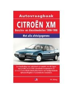 1990 - 1998 CITROËN XM BENZINE / DIESEL VRAAGBAAK NEDERLANDS