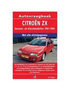 1991 - 1994 ZX BENZINE / DIESEL VRAAGBAAK NEDERLANDS