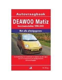 1998 - 2000 DAEWOO MATIZ BENZINE VRAAGBAAK NEDERLANDS
