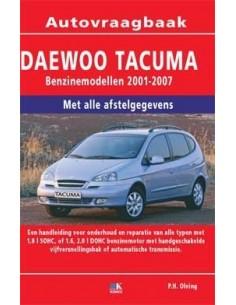 2001 - 2007  DAEWOO TACUMA BENZINE VRAAGBAAK NEDERLANDS
