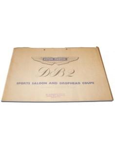 1951 ASTON MARTIN DB2 BROCHURE ENGELS