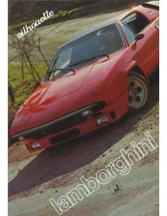 1986 LAMBORGHINI SILHOUETTE BROCHURE