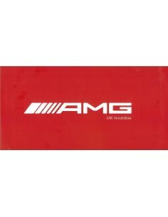 2010 MERCEDES BENZ C63 AMG SWISSEDITION BROCHURE DUITS