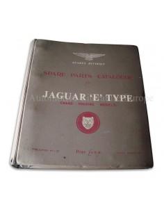 1961 JAGUAR E TYPE GRAND TOURING ONDERDELENHANDBOEK ENGELS
