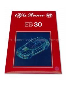 1989 ALFA ROMEO ES 30 PERSMAP ENGELS