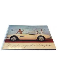 1957 BMW 502 503 507 V8 BROCHURE DUITS