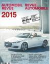 2015 AUTOMOBIl REVUE JAHRESKATALOG DEUTSCH FRANZÖSISCH