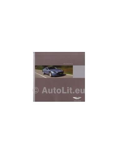 2006 ASTON MARTIN V8 VANTAGE BROCHURE DUITS