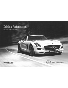 2013 MERCEDES BENZ AMG PROGRAMMA BROCHURE ENGELS USA