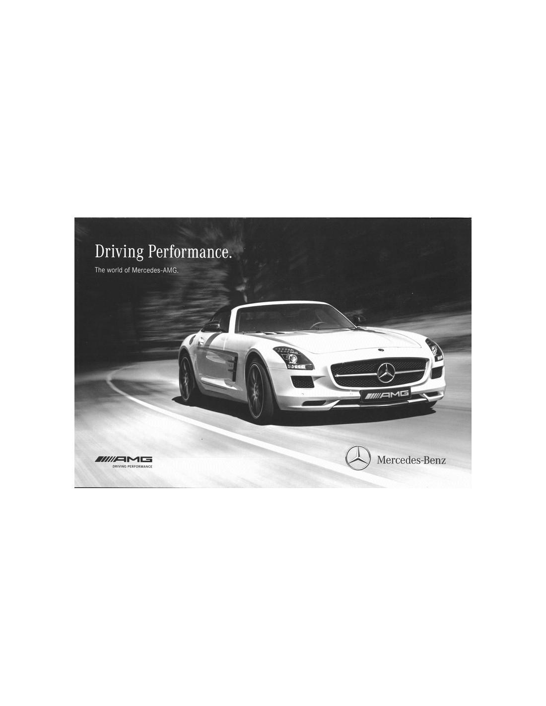2013 mercedes benz amg brochure engels usa for Mercedes benz amg usa