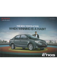 2014 TOYOTA ETIOS BROCHURE ENGELS (INDIA)