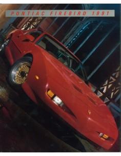 1991 PONTIAC FIREBIRD BROCHURE ENGELS USA