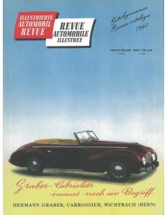 1947 AUTOMOBIL REVUE JAARBOEK DUITS FRANS