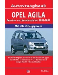 2002 - 2007 OPEL AGILA VRAAGBAAK NEDERLANDS