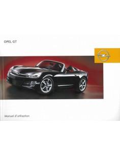 2007 OPEL GT INSTRUCTIEBOEKJE FRANS
