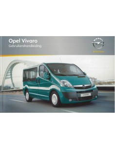 2010 OPEL VIVARO INSTRUCTIEBOEKJE NEDERLANDS