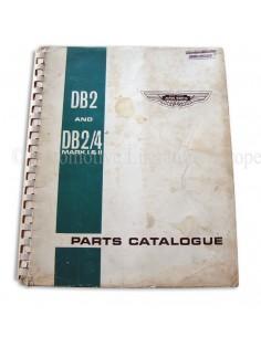 1966 ASTON MARTIN DB2 & DB2/4 MK 1 / 2 ONDERDELENHANDBOEK ENGELS