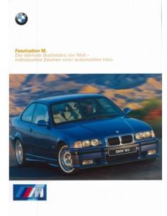 1997 BMW M3 BROCHURE DUITS