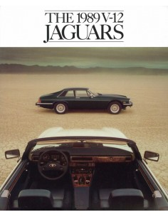 1989 JAGUAR XJ-S BROCHURE ENGELS USA