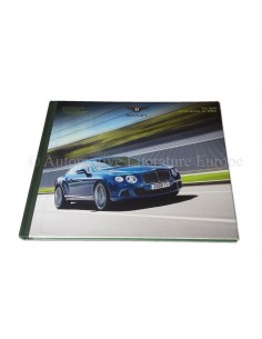 2012 BENTLEY CONTINENTAL GT SPEED HARDCOVER BROCHURE ENGELS