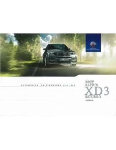 2014 BMW ALPINA XD3 BITURBO ALLRAD BROCHURE DUITS