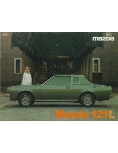 1979 MAZDA 121L BROCHURE NEDERLANDS