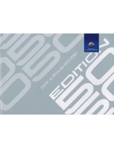 2015 BMW ALPINA B6 EDITON 50 COUPE & CABRIO BROCHURE DUITS