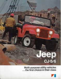 1983 JEEP CJ-5 CJ-6 BROCHURE ENGELS USA