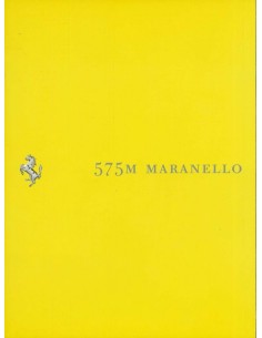 2002 FERRARI 575M MARANELLO BROCHURE 1777/02