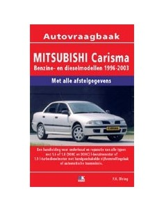 1996 - 2003 MITSUBISHI CARISMA BENZINE DIESEL VRAAGBAAK NEDERLANDS