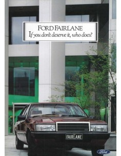 1984 FORD FAIRLANE BROCHURE ENGELS