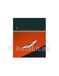 1994 ASTON MARTIN PROGRAMMA BROCHURE ENGLISH