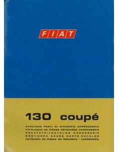 1971 FIAT 130 COUPE CARROSSERIE ONDERDELENHANDBOEK