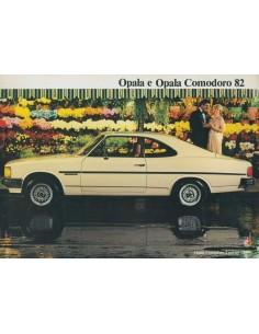 1982 CHEVROLET OPALA & OPALA COMODORO BROCHURE BRAZILIAANS