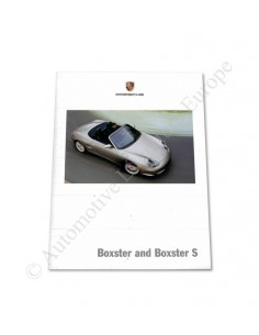 2004 PORSCHE BOXSTER BROCHURE ENGELS USA
