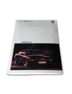 1989 BMW 8 SERIE PERSMAP ENGELS